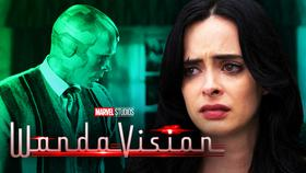 WandaVision's connection to Jessica Jones.}