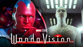 Paul Bettany as Vision, White Vision, WandaVision}