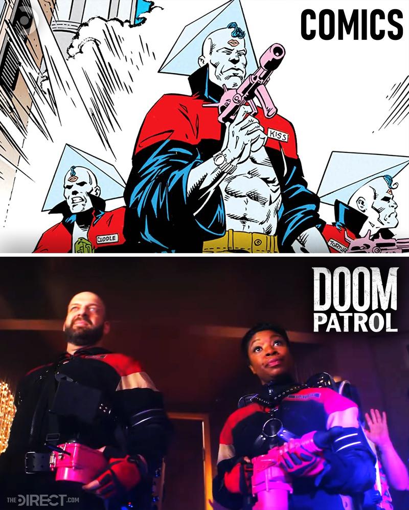 SeX-Men Comparison - Doom Patrol