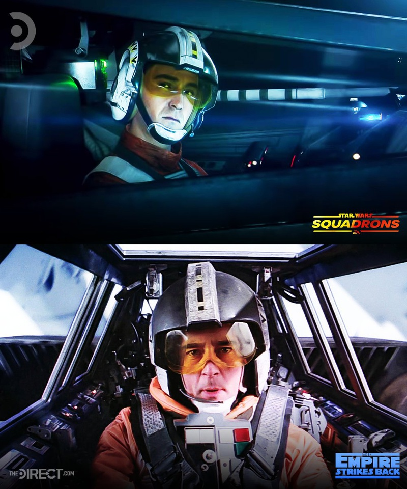 Wedge Antilles in Star Wars: Squadrons