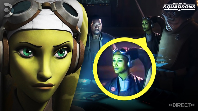 Hera Syndulla in Star Wars: Squadrons