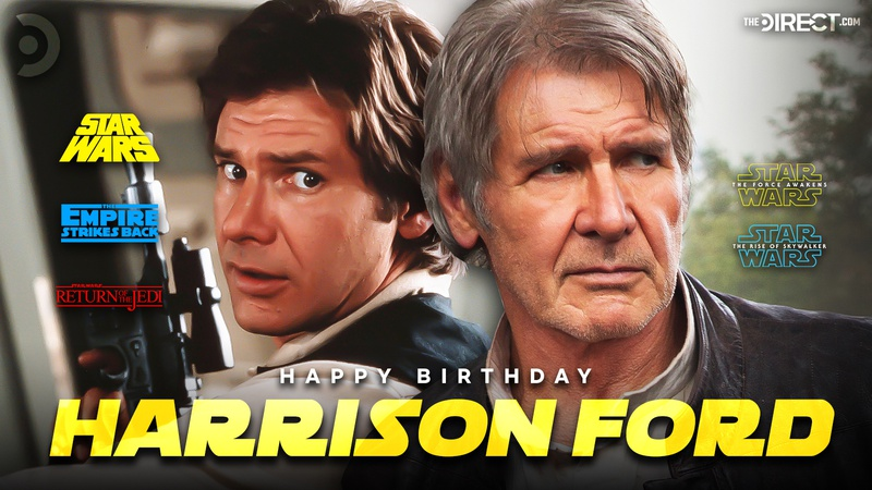 Happy 78th Birthday Harrison Ford