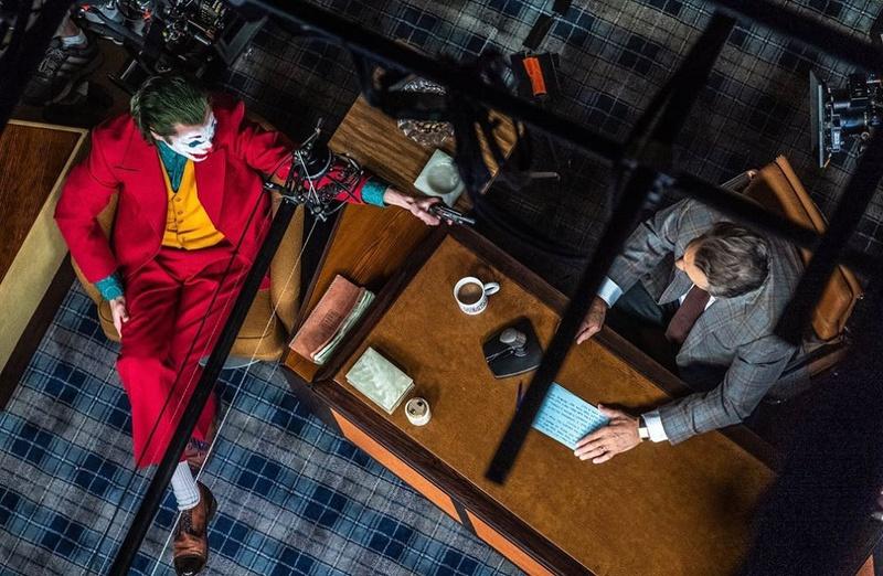 Joaquin Phoenix as Joker prior to shooting Murray