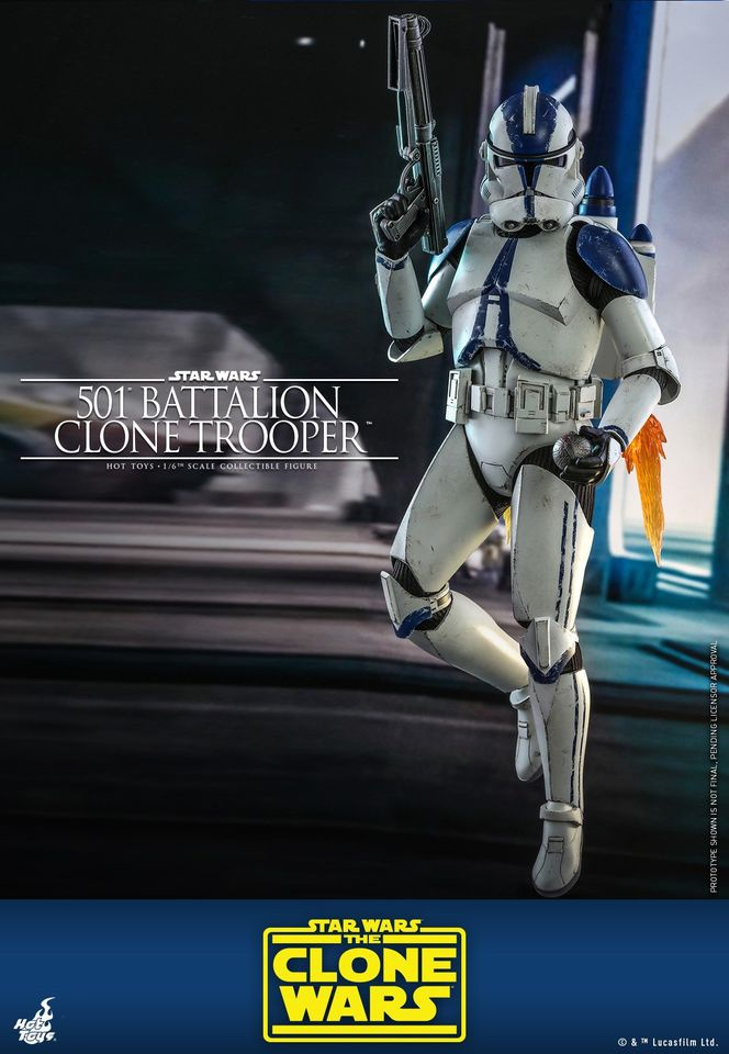 501st Battalion Trooper Hot Toys Figure