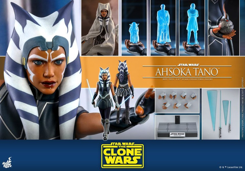 Ahsoka Tano Complete Accessories Hot Toys