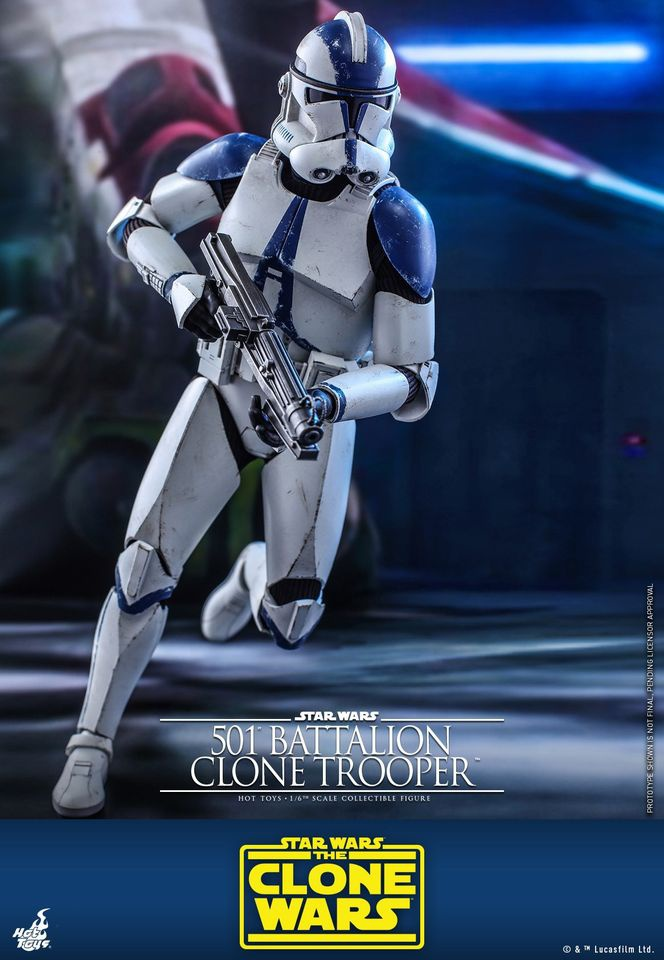 Clone Trooper Collectible Hot Toys Figure