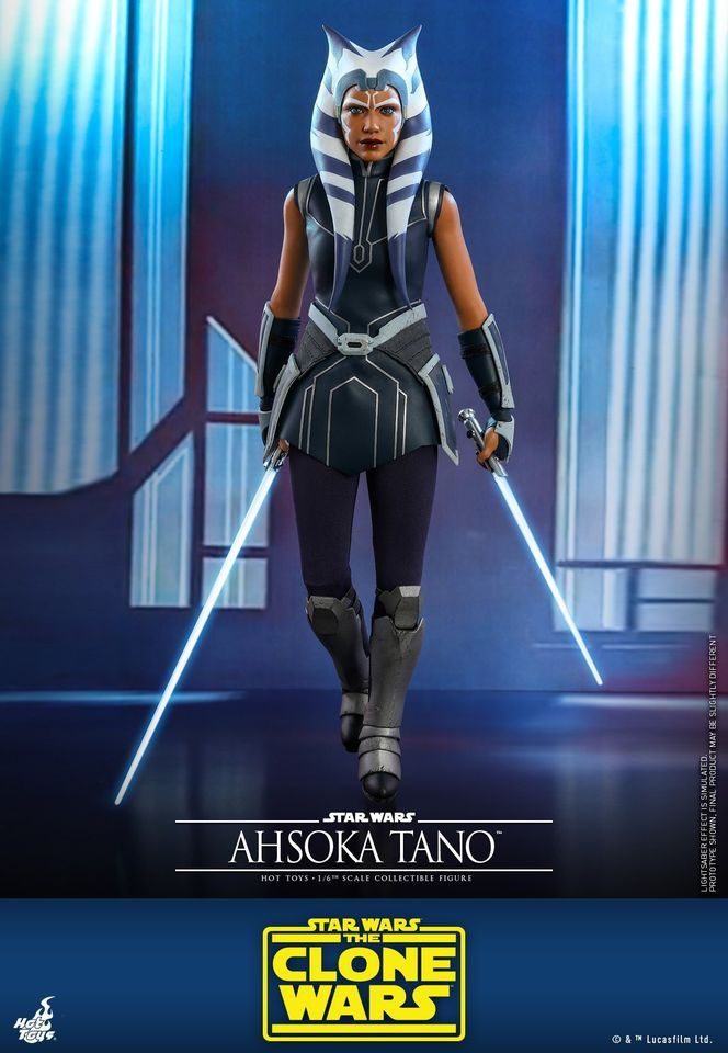 Ahsoka Tano Sixth Scale Hot Toys Figure