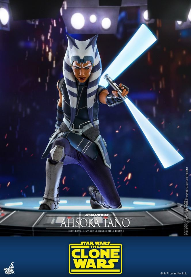 Ahsoka Tano Hot Toys Figure