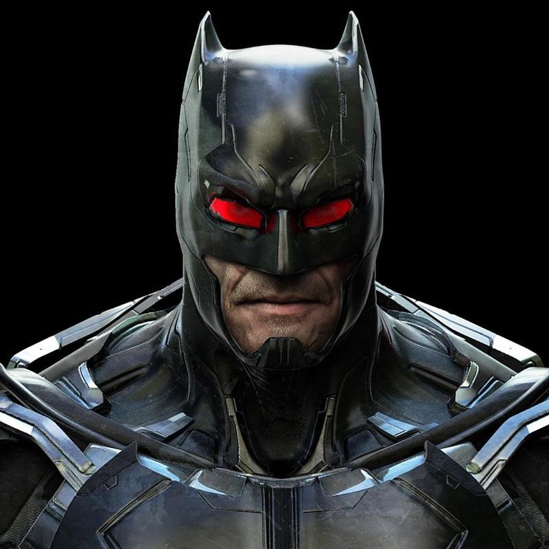 Unused Batman Concept Art 2
