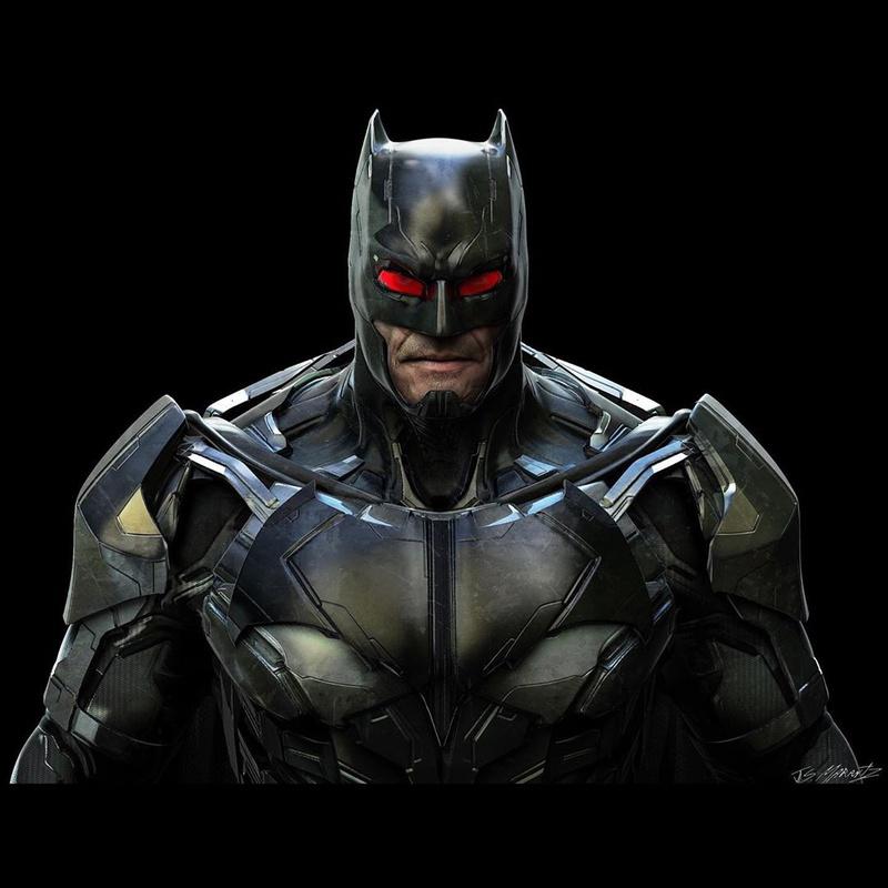 Unused Batman Concept Art 3