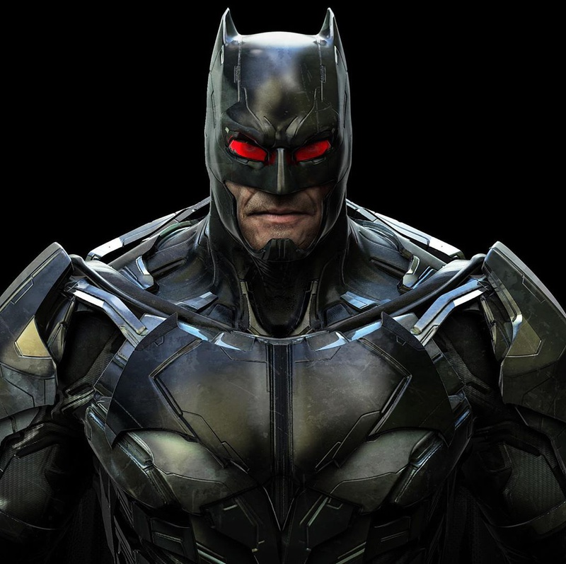 Unused Batman Concept Art 1