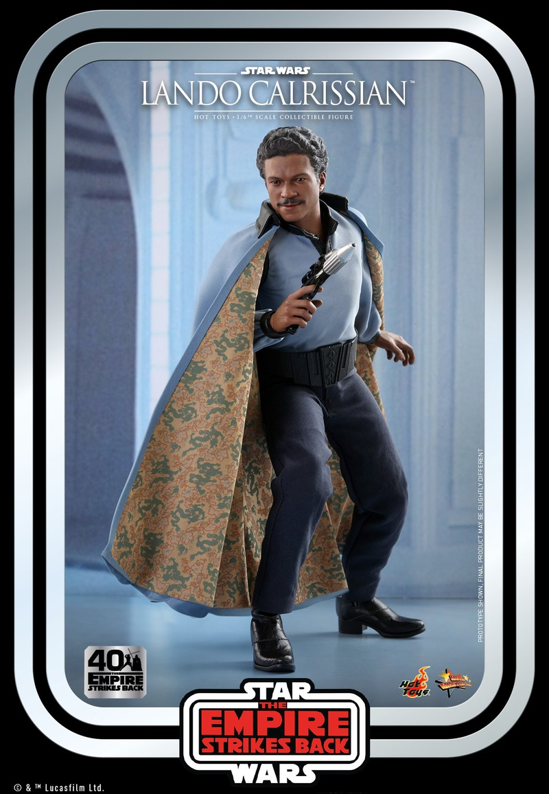Lando Hot Toys Collectible 4