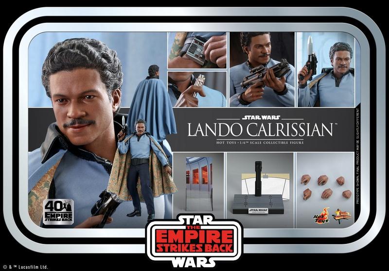 Lando Hot Toys Collectible 5