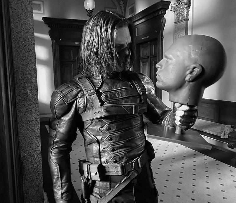 Winter Soldier Bucky Hallway