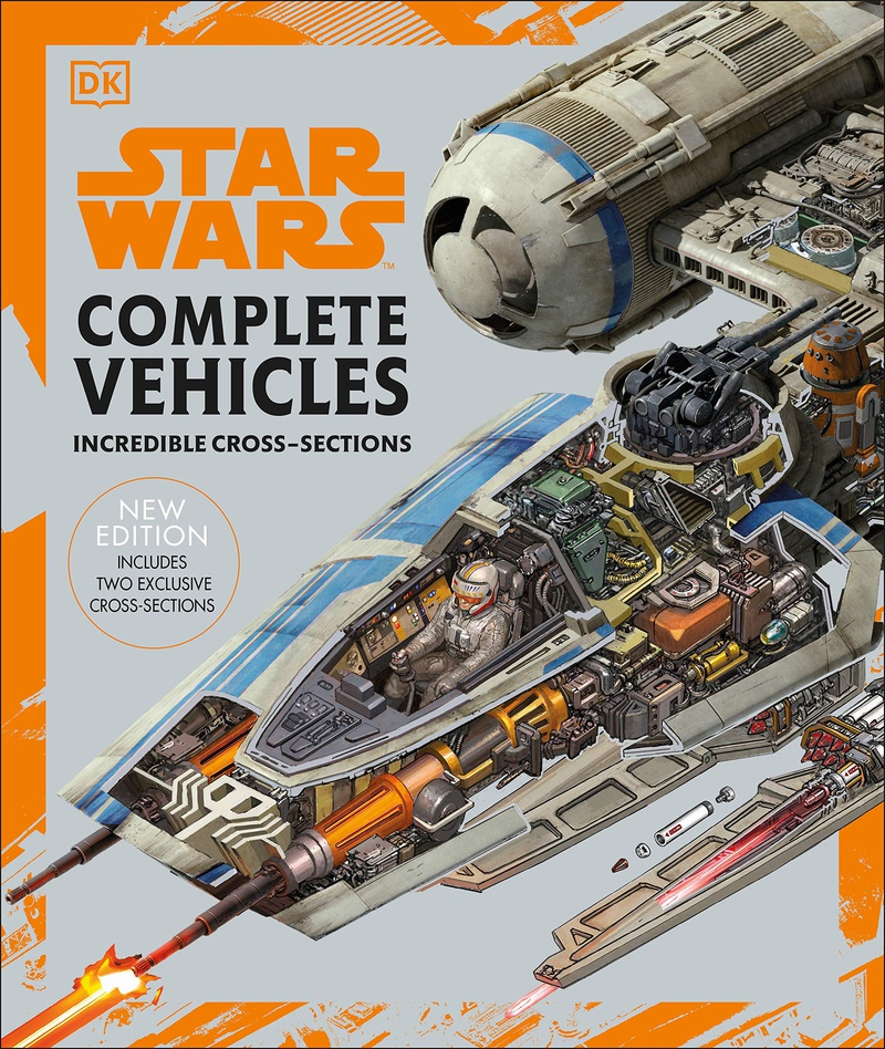 Star Wars Complete Vehicles Cover Art