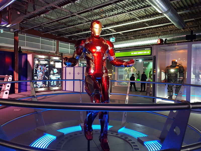 Iron Man in Avengers Station