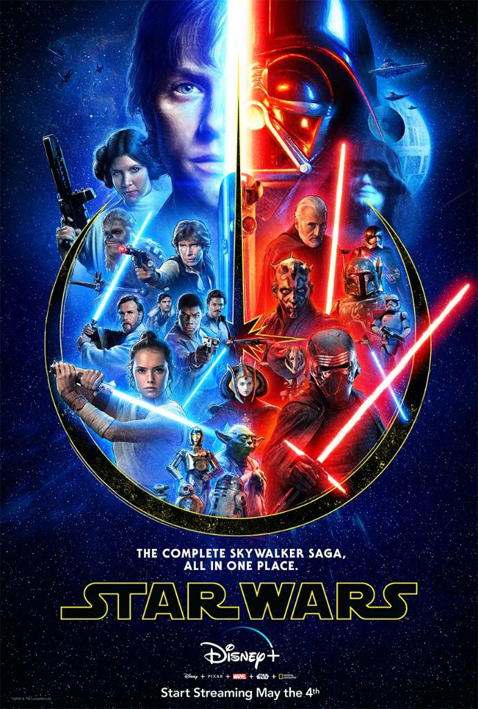 Star Wars Skywalker Saga Poster