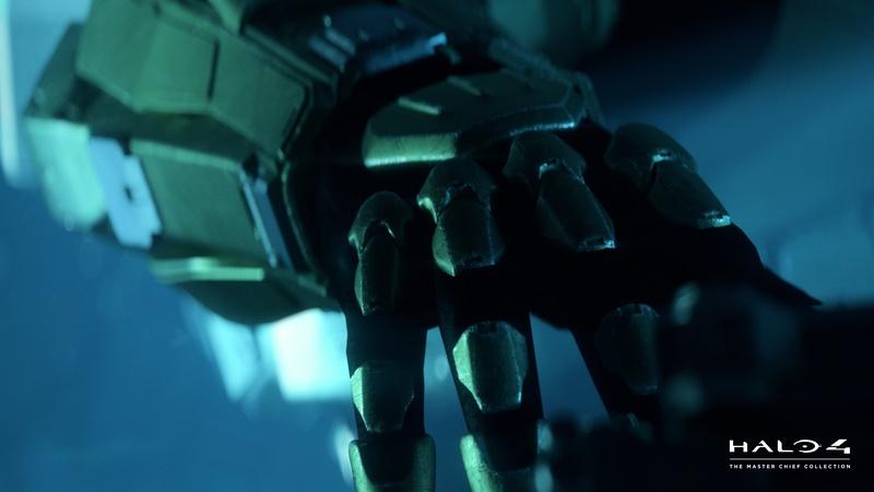 Halo 4 Master Chief Helmet Wallpaper Arm
