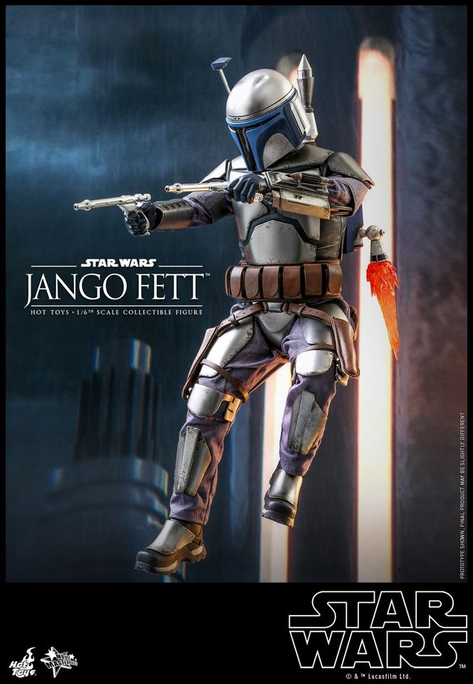 Jango Fett Hot Toys Collectible Figure