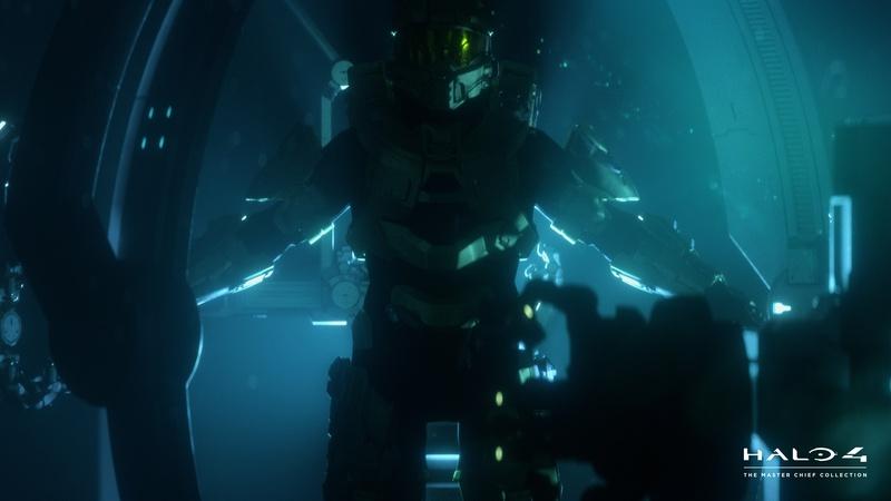 Halo 4 Master Chief Helmet Wallpaper Body