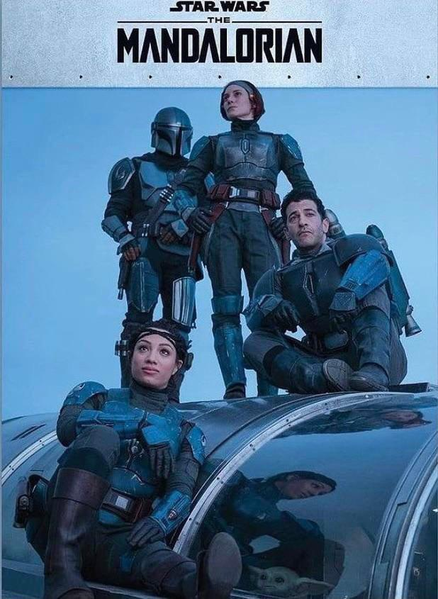 The Mandalorian Season 2 BTS Image
