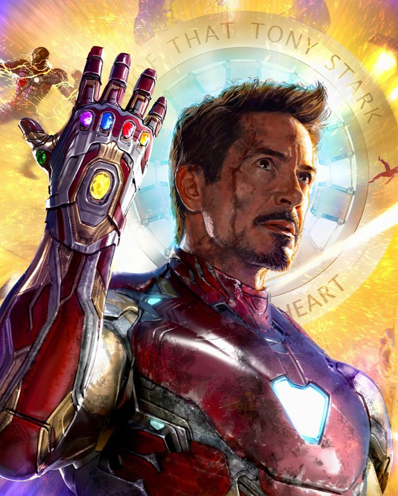 Iron Man D23 Poster Celebrating Tony Stark's Best Moments ...