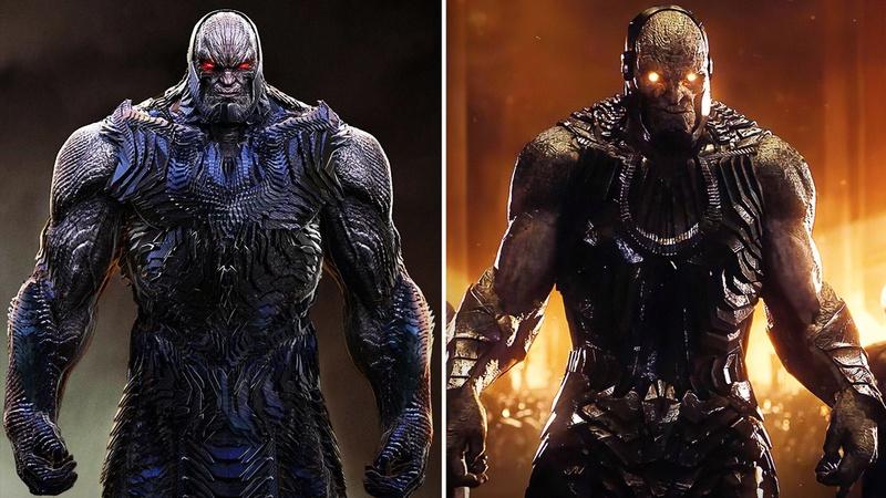 Darkseid concept comparison