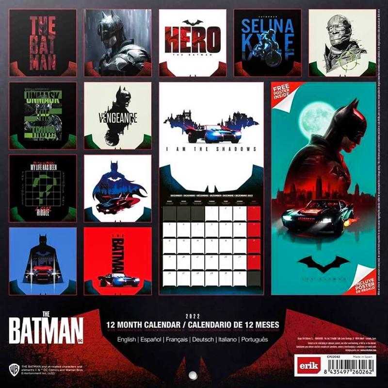 The Batman, Riddler, Catwoman, DCU
