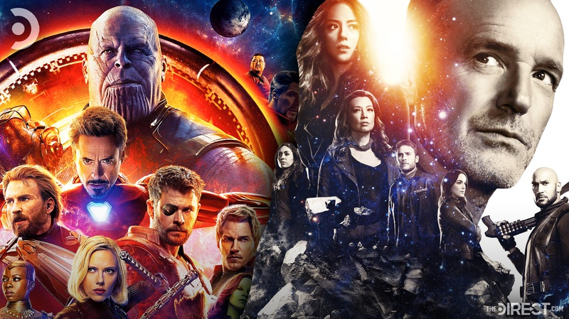 Agents of Shield poster, Avengers: Infinity War poster