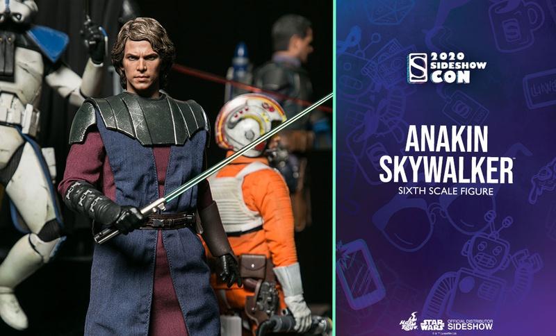 Anakin Skywalker Hot Toys Figure