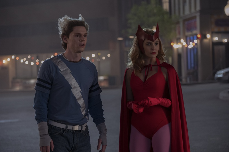 Wanda and Quicksilver