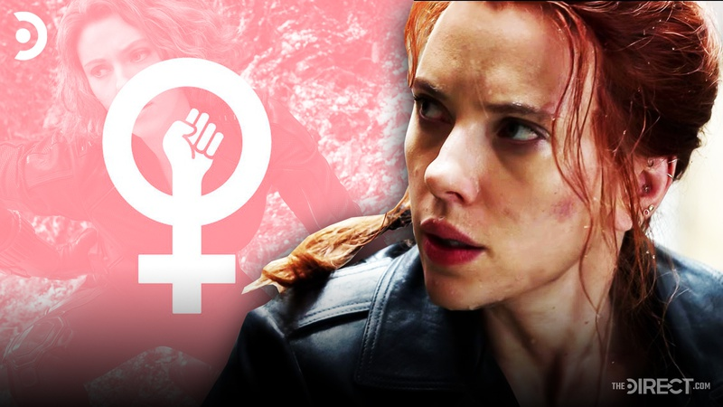 Black Widow, Feminist logo
