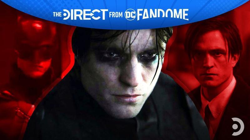 Robert Pattinson in The Batman DC FanDome