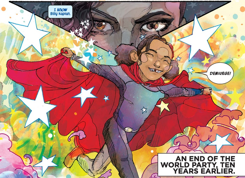 Wiccan Billy America Chavez Young Avengers