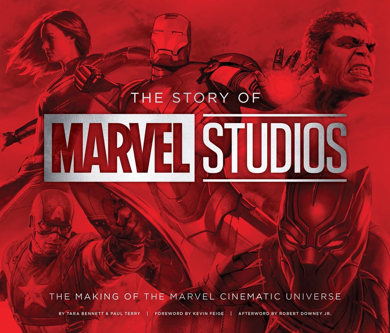Marvel, Making of, Book