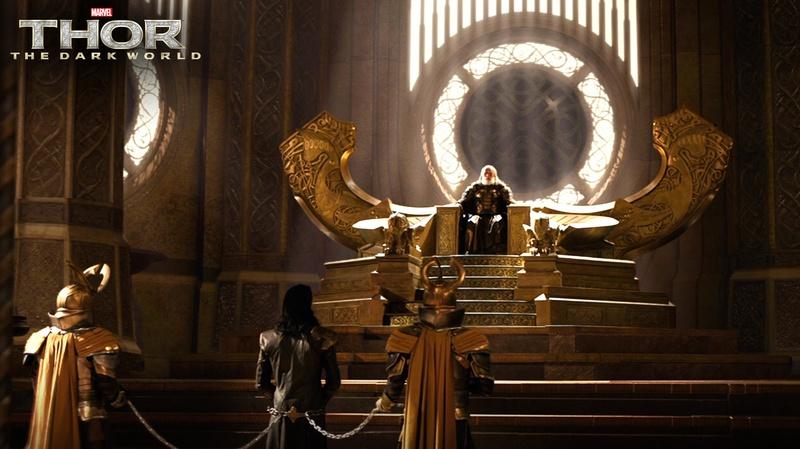 Throne in Thor Dark World