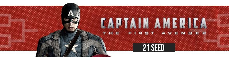 #21 Captain America: The First Avenger