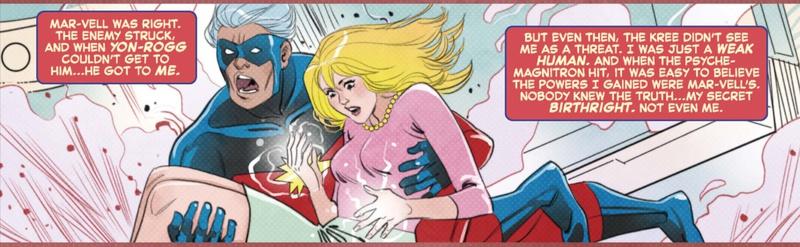 Captain Marvel Origin Retcon