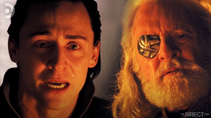 Loki and Odin in Thor