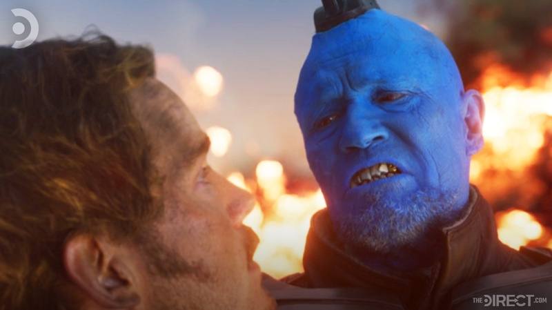 Yondu and Star-Lord in Guardians of the Galaxy 2
