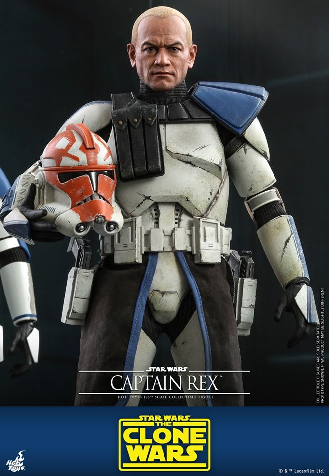 Clone Wars Rex Hot Toys