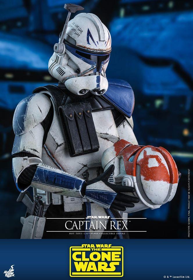 Clone Wars Captain Rex Hot Toys Figure