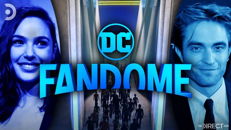 Gal Gadot, DC Fandome Shot, Robert Pattinson