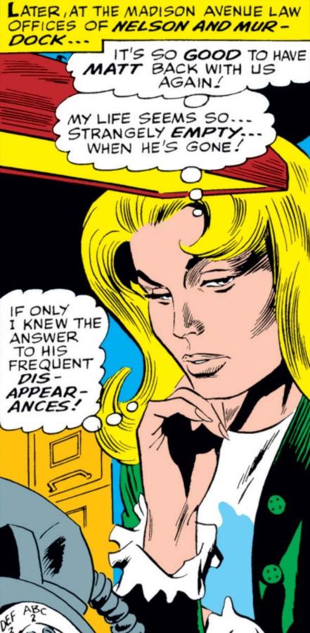 Madison Ave Daredevil Marvel Comic