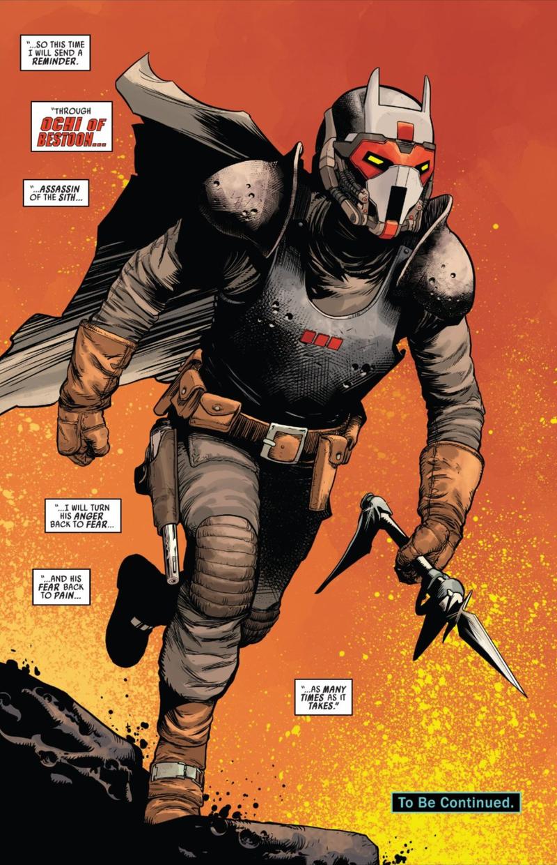 Star Wars: Darth Vader #6 Comic Panel