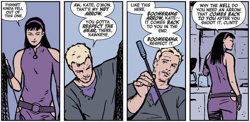Arrows Hawkeye Kate Bishop