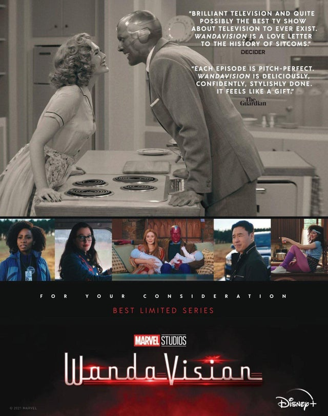 WandaVision Emmys poster