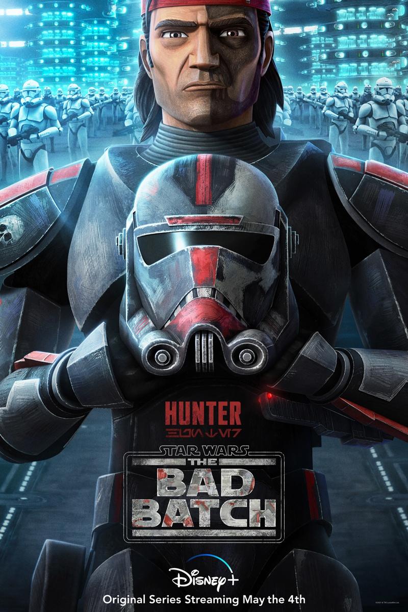 Hunter, Star Wars: The Bad Batch