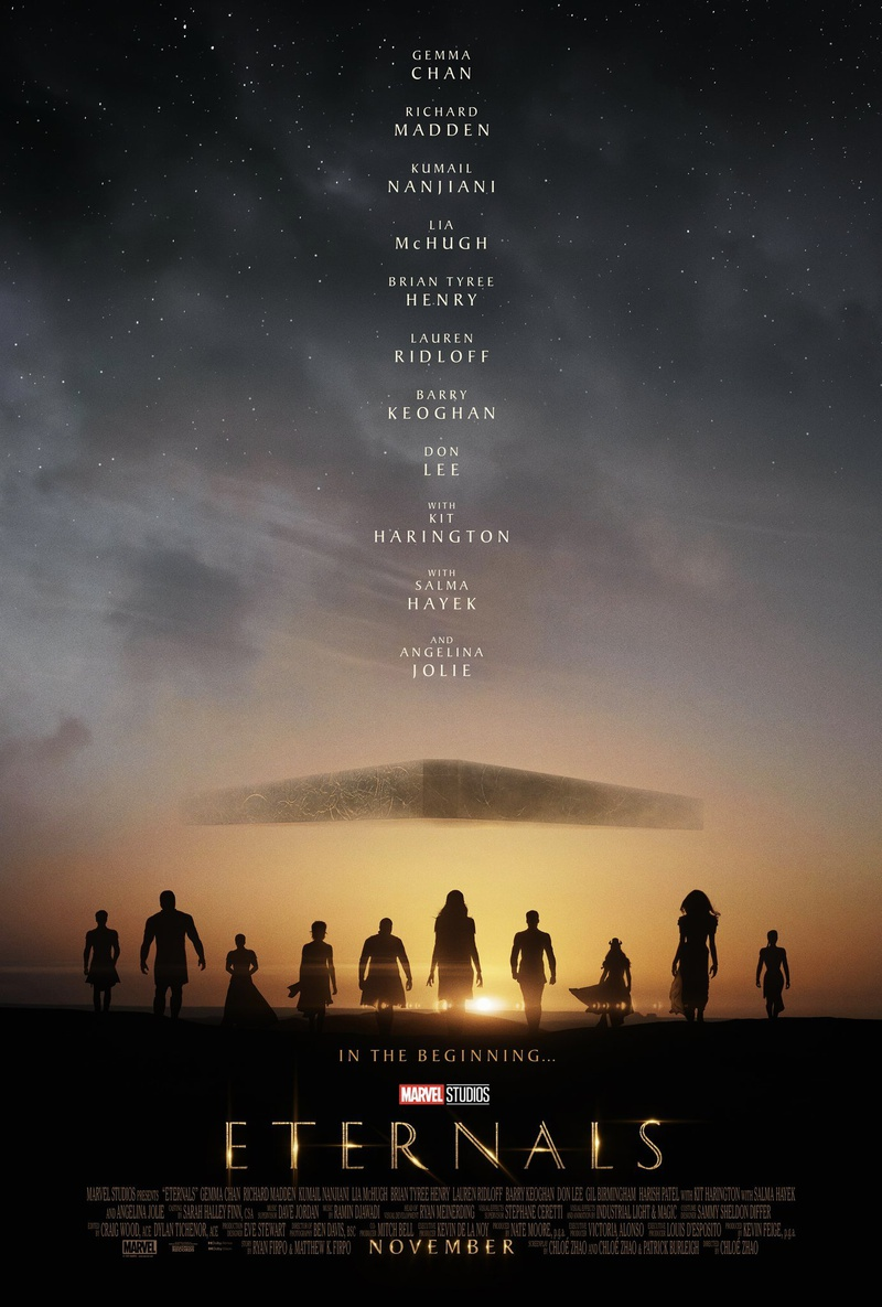 Eternals poster from Marvel Studios