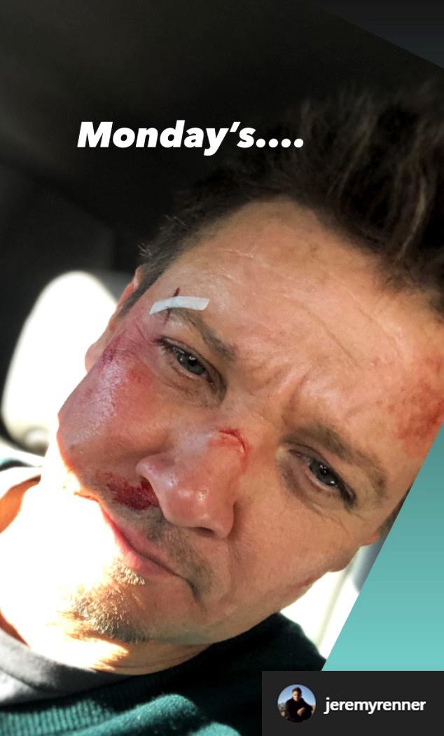 Jeremy Renner Selfie